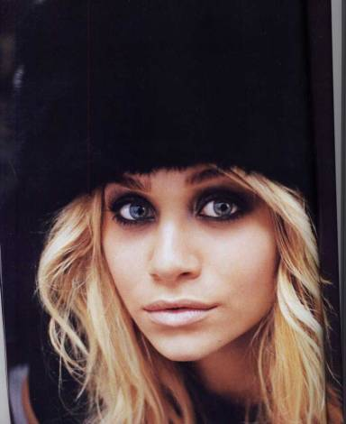 olsen twin makeup smokey eye