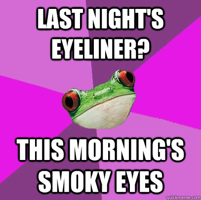 smokey eye makeup meme