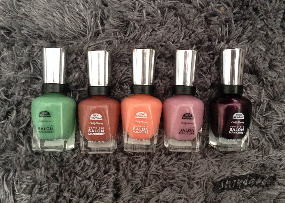 Stay polished with these new colours from Sally Hansen | Smudged