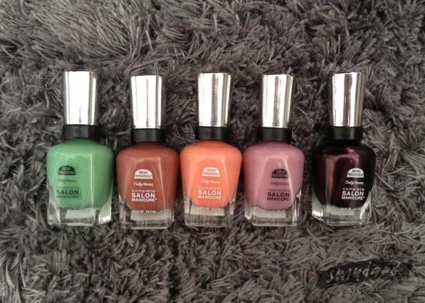 new-sally-hansen complete salon-polishes