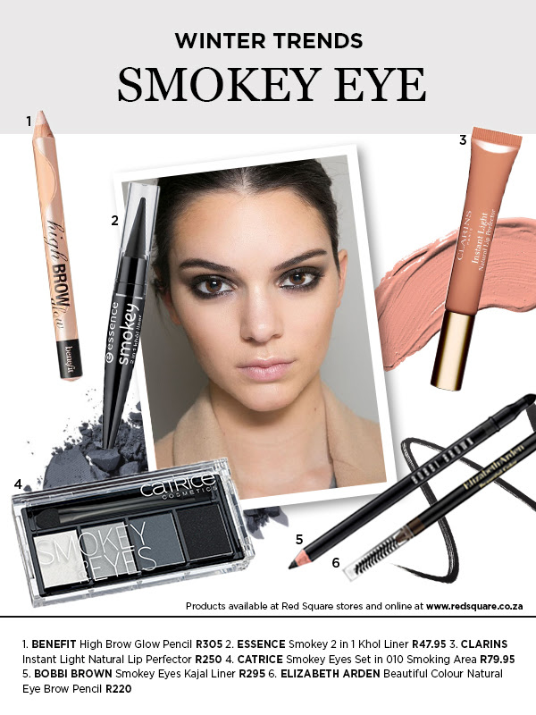 smokey eyes Red Square winter beauty trend