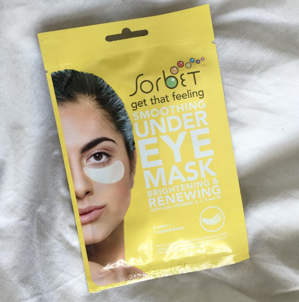 sorbet eye masks
