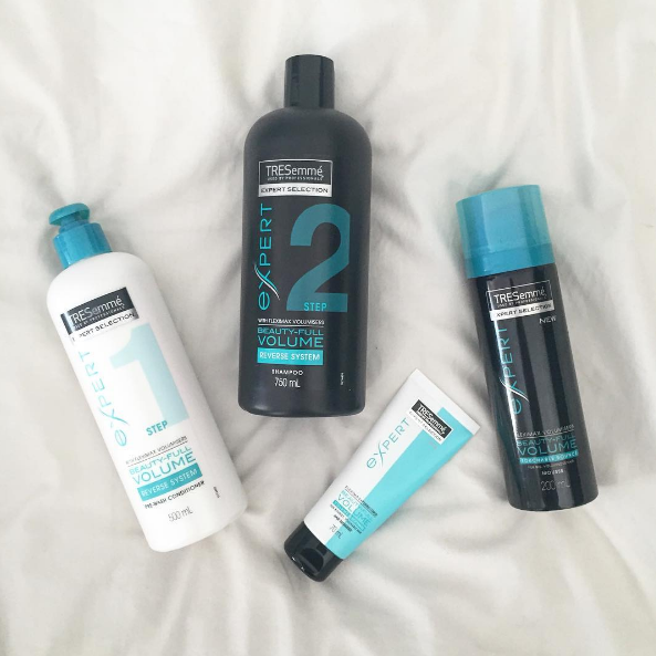 tresemme beautiful volume range